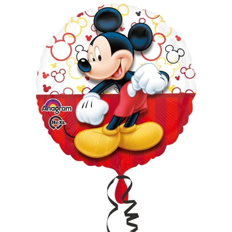 Foliovy Balonek Standard Mickey Mouse Dekorace Party Cz